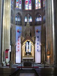 Cathédrale de Bayonne, mars 2014