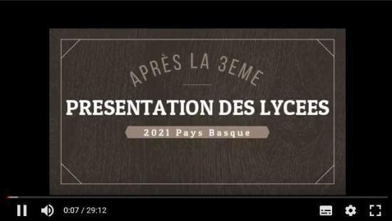 Presentation des lycees