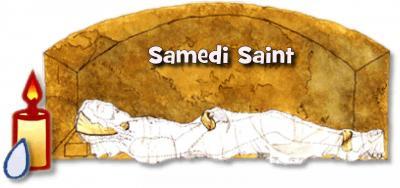 Le Samedi Saint - 20 Avril 2019 – (Images et Musique) - Tableau Poétique des Fêtes Chrétienne – Vicomte Walsh 19 eme siè Samedi.saint